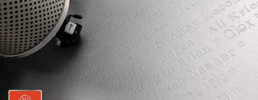Wizard mat cutter, custom mat, custom frame, art business, debossing
