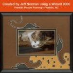 Wizard mat cutter, custom mat, custom frame, art business